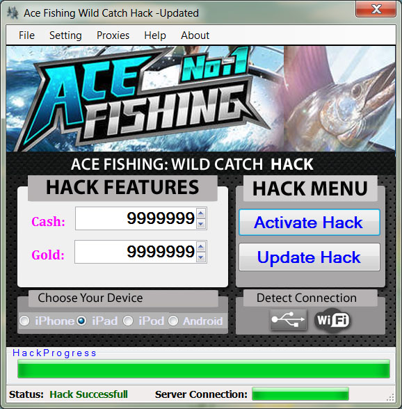 ace fishing wild catch hack hacks monster