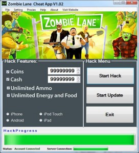 zombie-lane-hack-and-cheat-android-ios